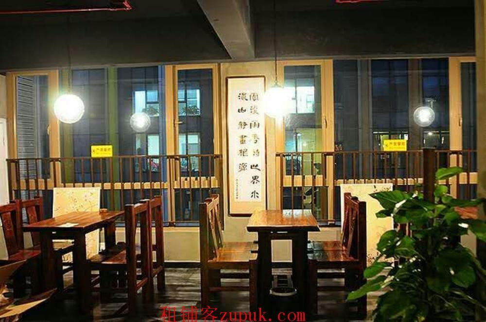 花果园中央商务区270平餐饮店15万低价转让