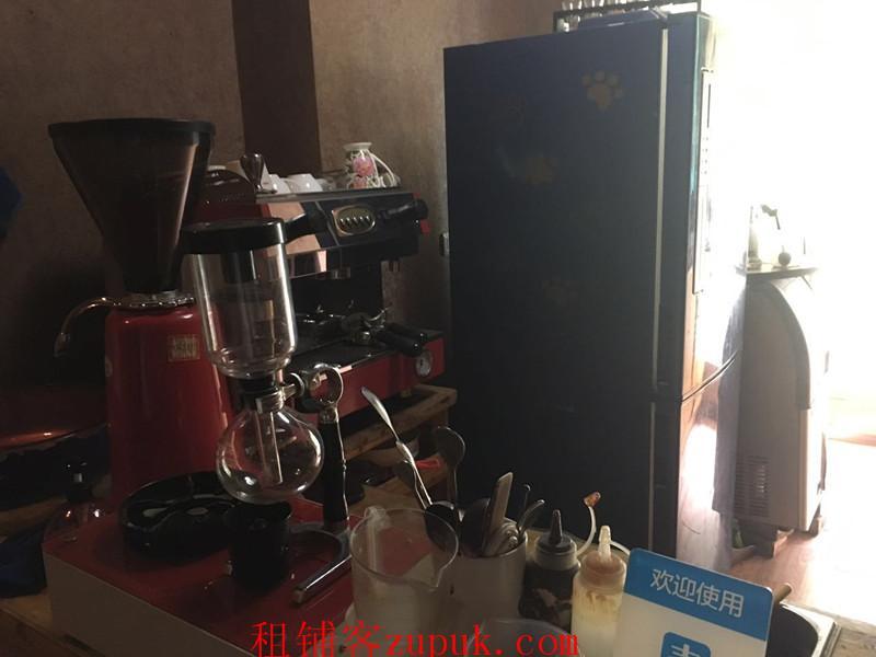 中山东路80平盈利咖啡馆低价急转
