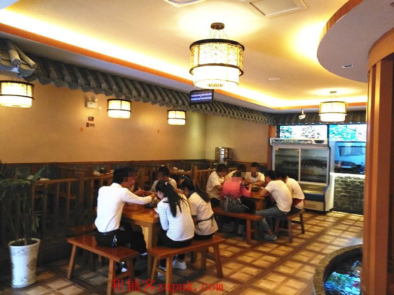 呈贡大学城盈利餐厅低价出租或转让