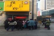 杨家坪步行街拐角双展示面小吃店急转