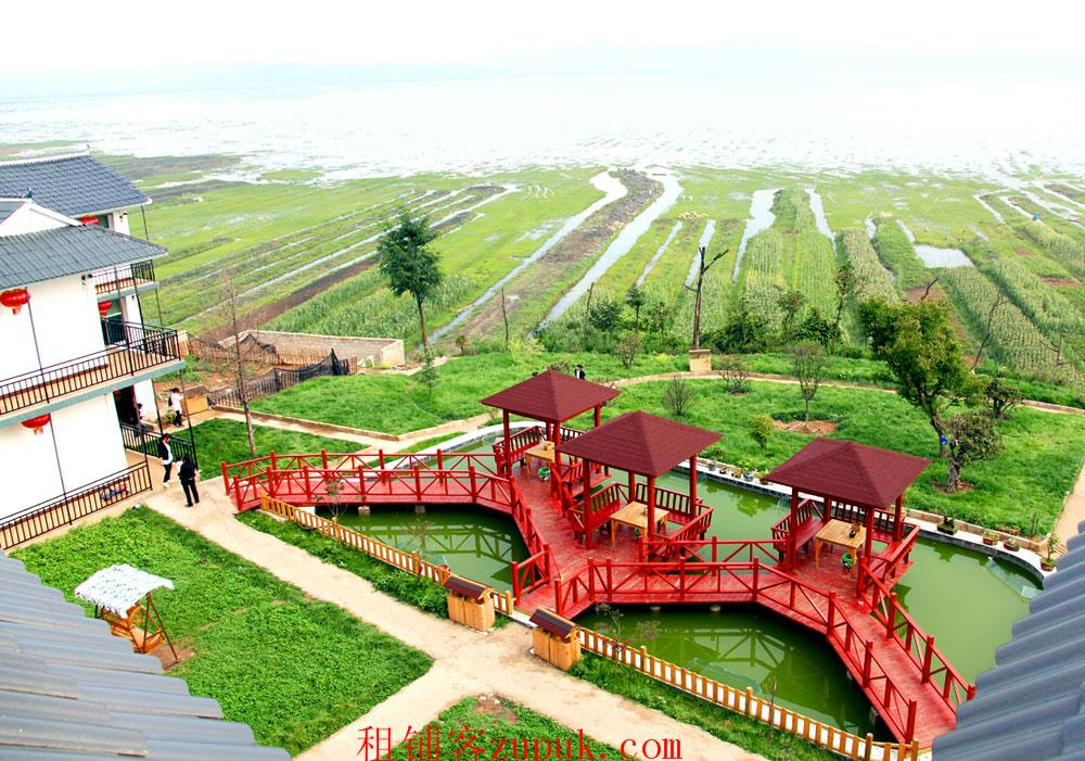 威宁草海边7000平滨海生态园寻求合作