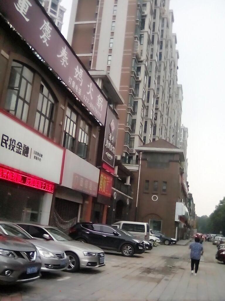 和平大道主干道上 江南春城临街旺铺招租180平(个人)