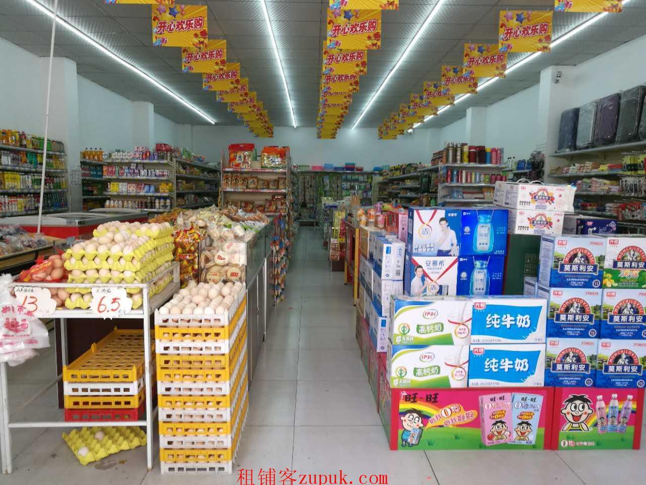 高新区 小区门口的超市盈利转了!