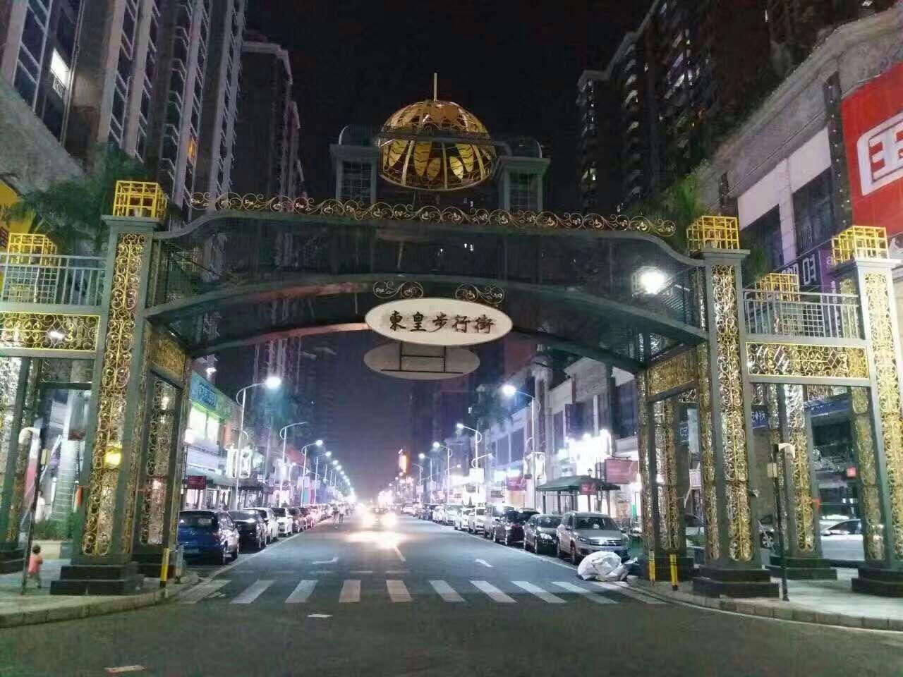 火爆招商住宅底商商业街