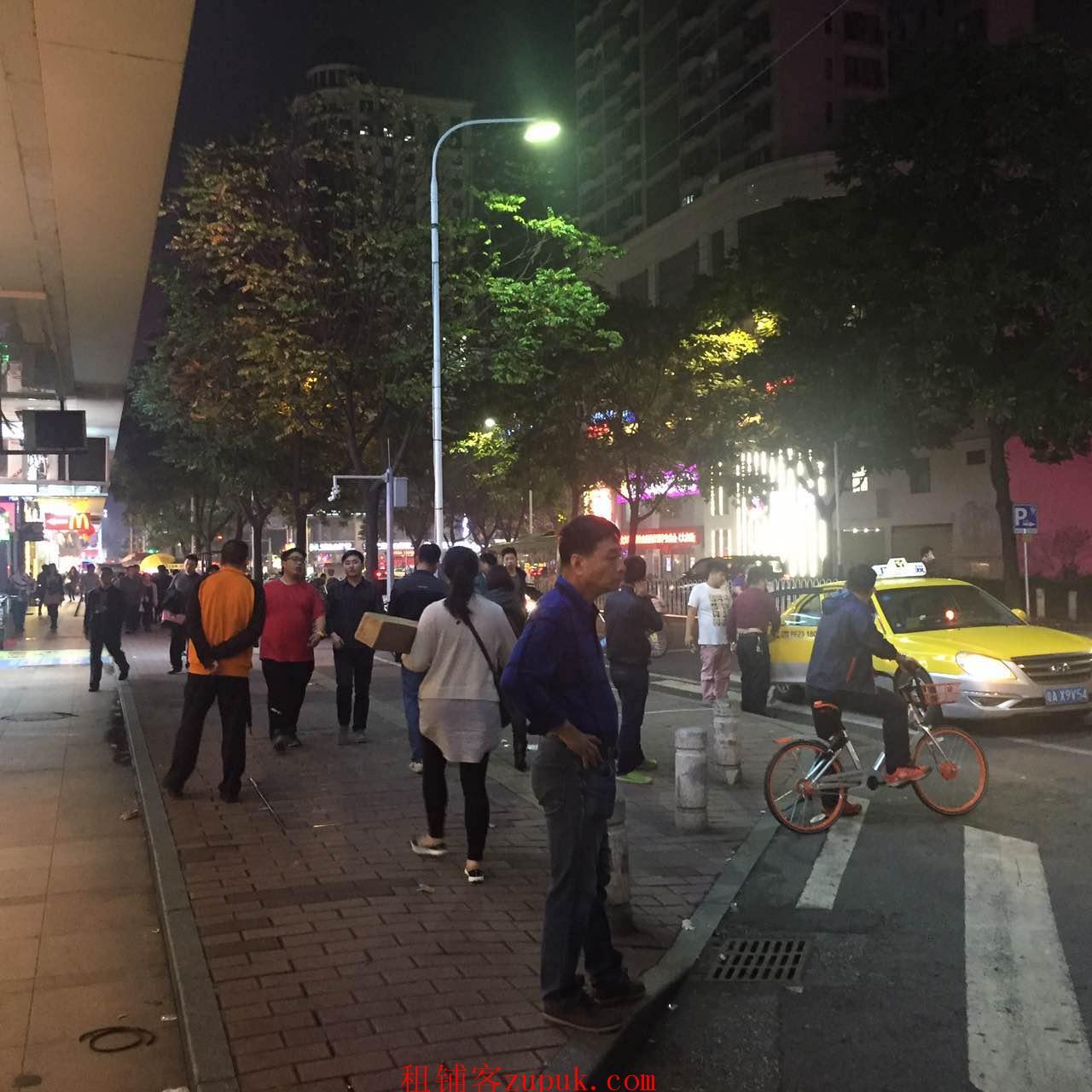 宝业路商场二层麦当劳旁餐饮铺 江南西地铁Y/W出口