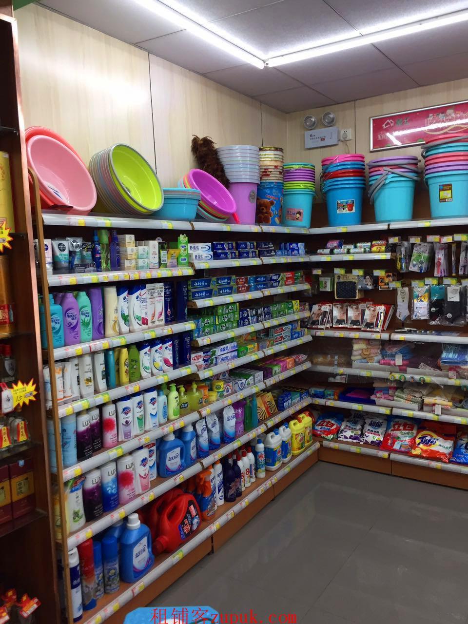 地铁口双门面盈利中超市便利店棋牌室转让《可分转》