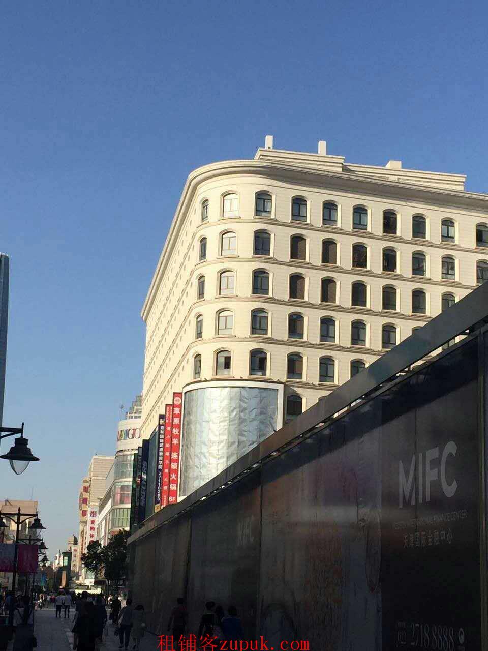 滨江道正街M-PLAZA六层57平米,业态不限
