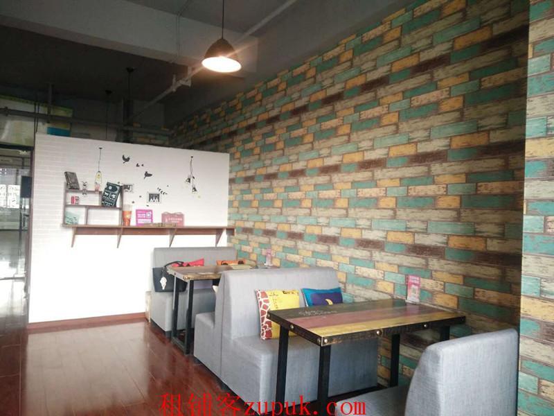 花果园J区57平奶茶店低价转让