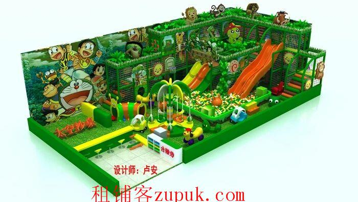 小学幼儿园附近商业街儿童乐园转让