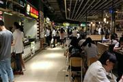 新出美食广场 地段优越客流量大  无租金扣点模式!