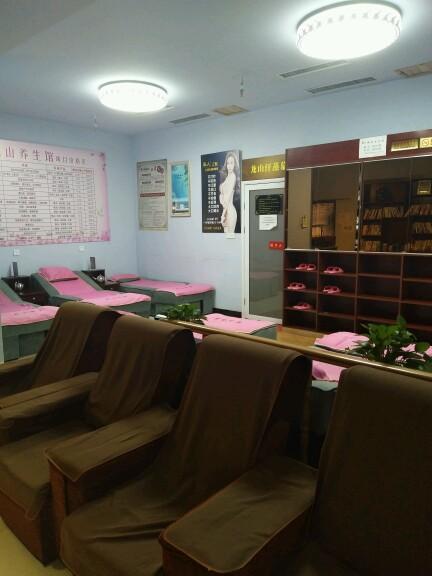 大型汗蒸房、美容院、理疗按摩