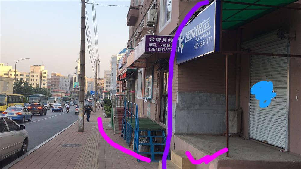 旅顺临街旺铺,近客运站/区医院/九三小学/世达广场