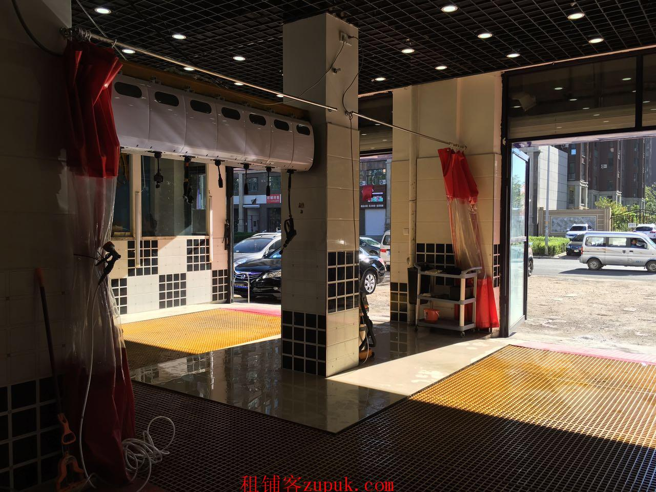 吉林市兴隆街洗车美容店出兑