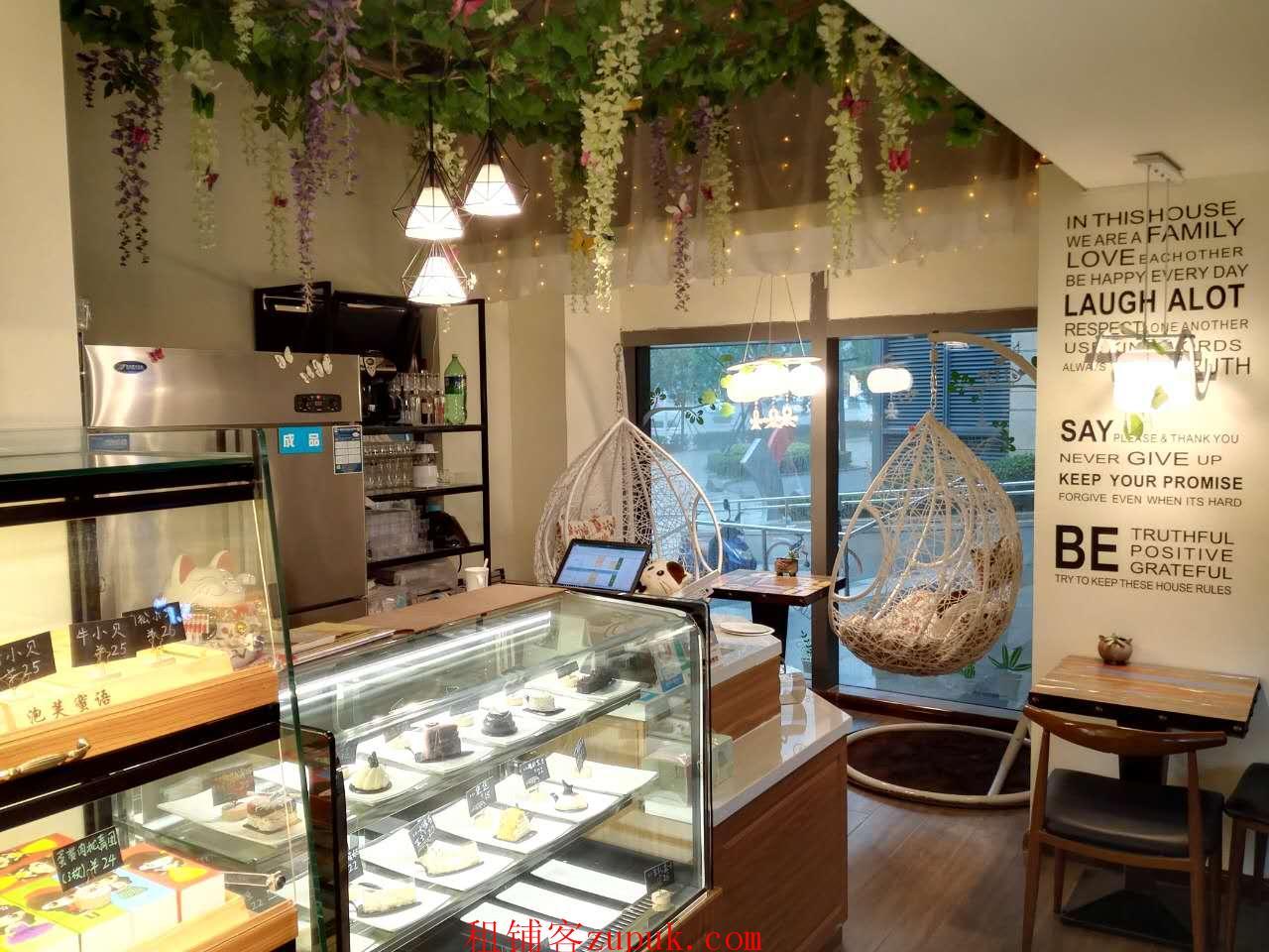 市北新都心万科甜品店带房租带设备带技术带客源转让
