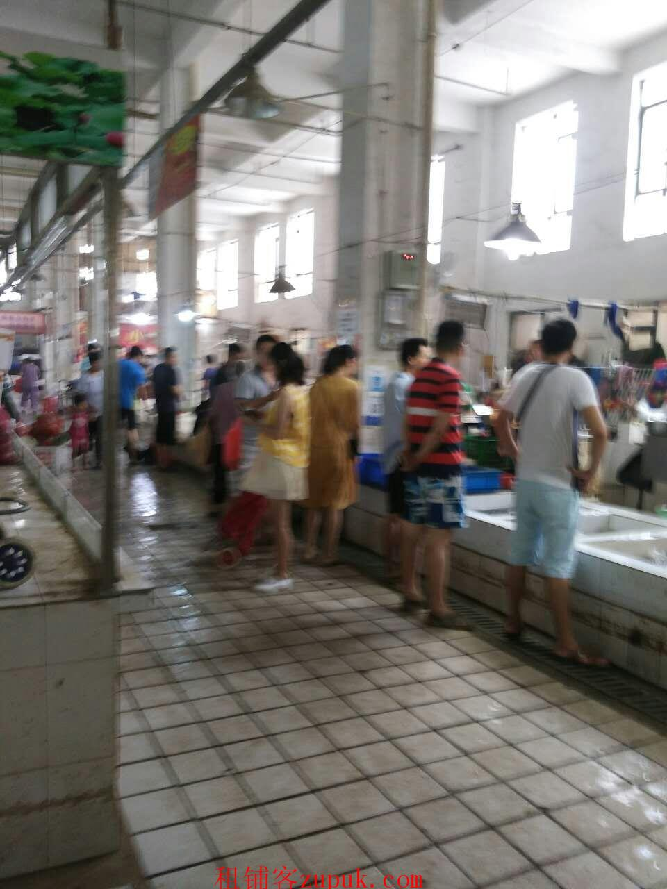 光谷 高新二路 关南生鲜菜市场 水产摊位档口转让或转租