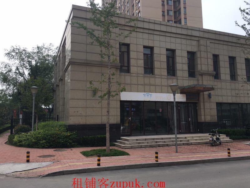 出租奥体西路中林路尚品燕园北门160平米商铺