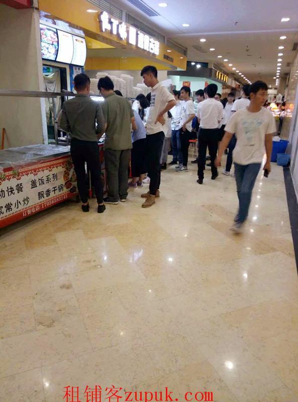 光谷国际广场地铁口美食城商铺转让