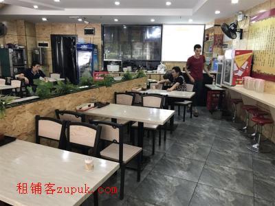 中高端小区230㎡临街餐饮店13.8万转让!(可空转)