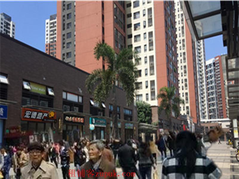 万科金悦香树旺铺出租 大型小区 入住率达百分九十 对面产业园