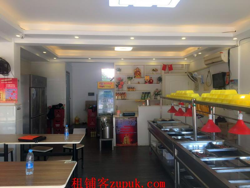大型小区盈利中快餐中餐厅转租