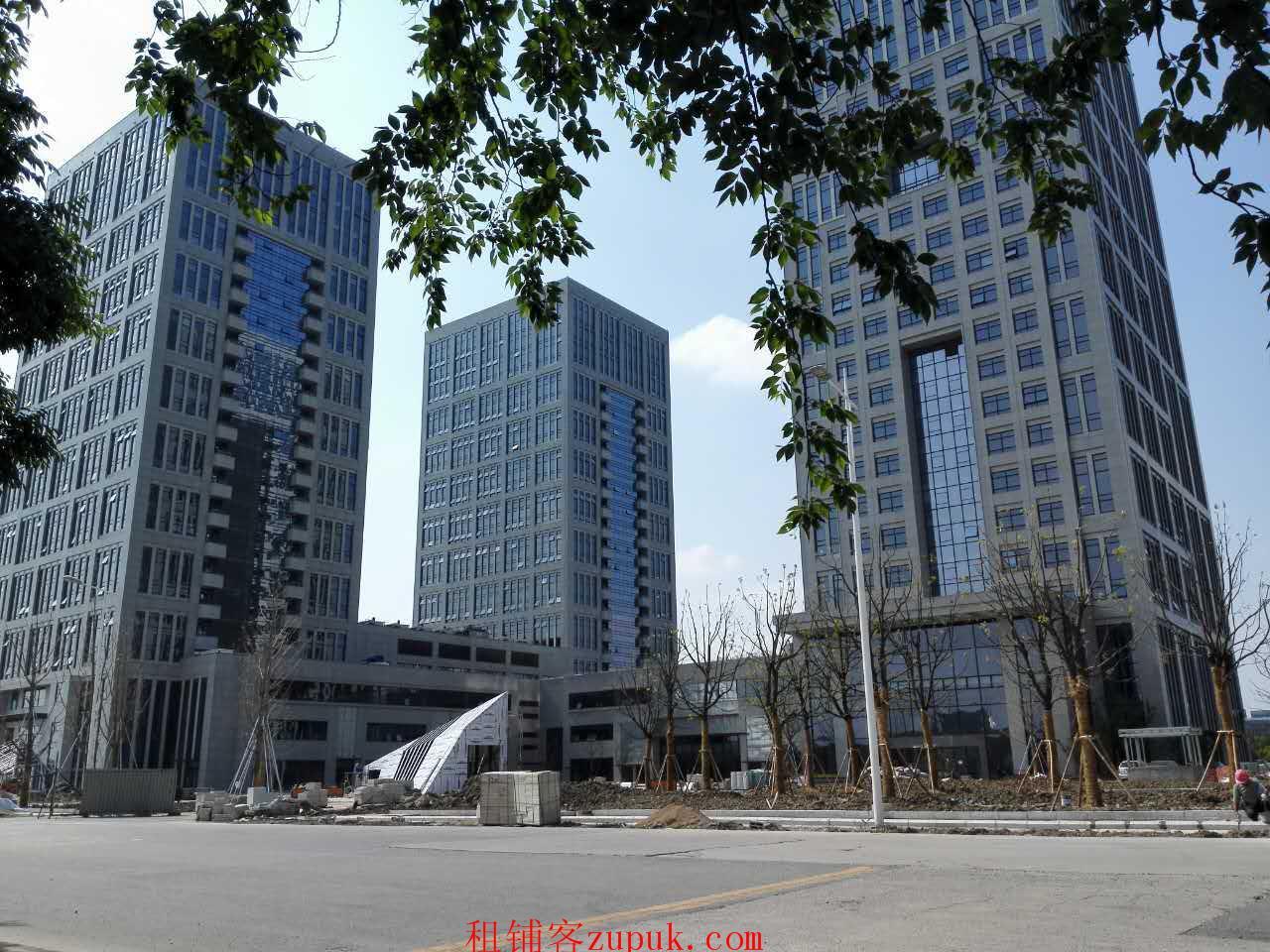 昆山城西祖冲之路5A级写字楼政府项目 售楼处直售