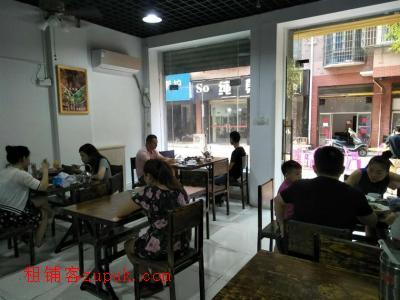 日均3500以上小区出入口80㎡餐饮店转让