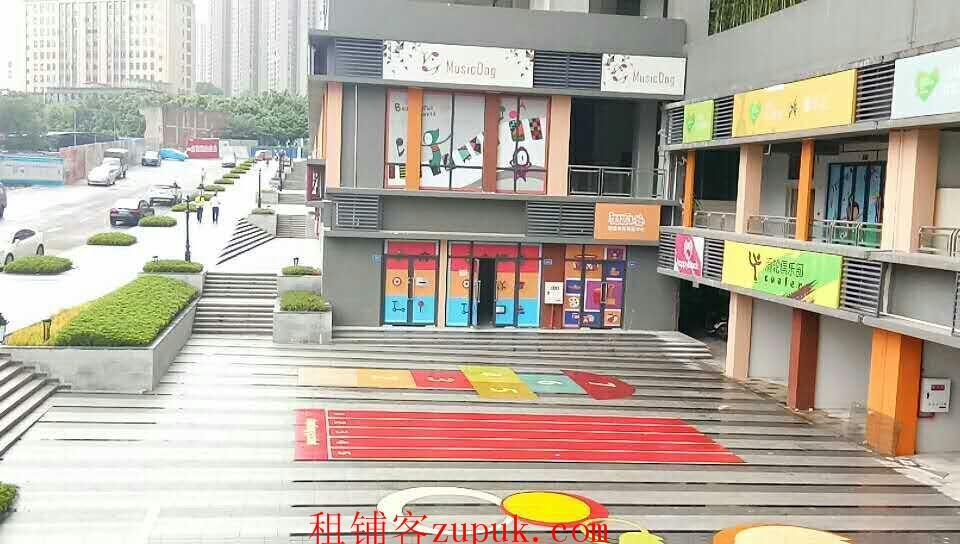 万科锦尚一期一楼临街门面