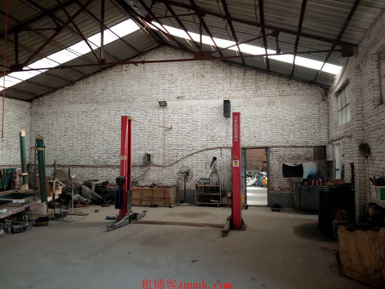 急租长安土贤庄仓库有修车设备也可做厂房价格便宜