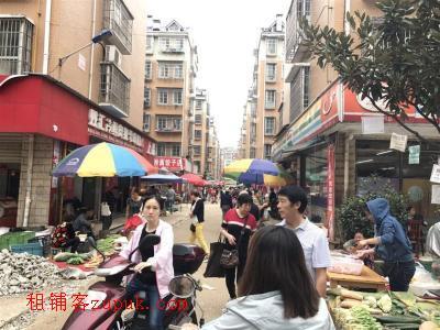 大型成熟社区菜市场旁72㎡五年老超市转让