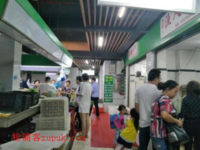 高档小区农贸市场35㎡水产店转让