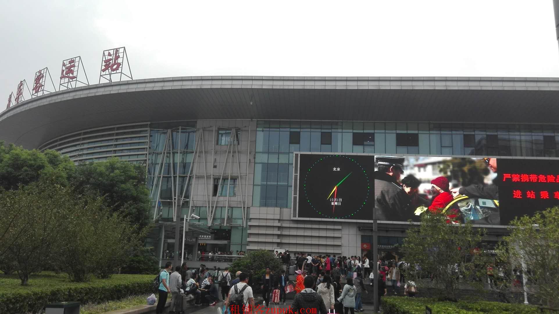 南京火车站汽车站地铁站北广场一楼50-100平米商铺出租