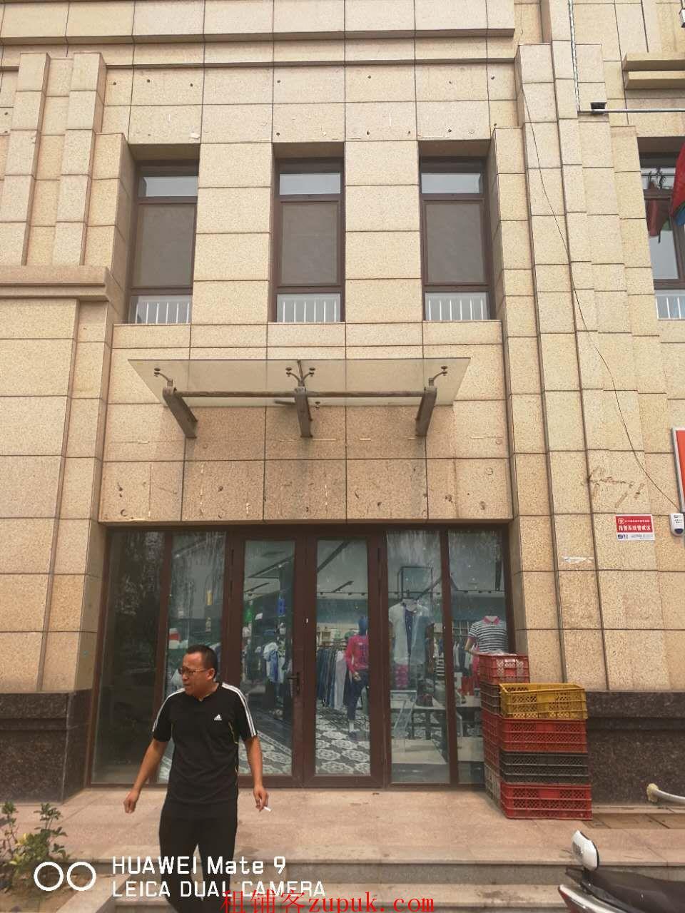 出租奥体西路尚品燕园西门北侧200平米两层商铺