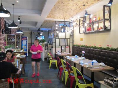 成熟小区临街300㎡特色时尚餐厅转让(可空转或转租)