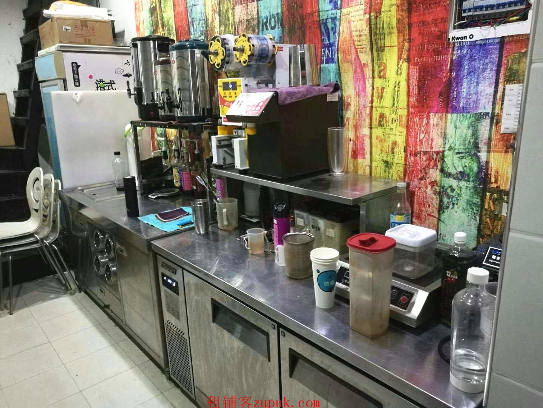 光谷软件园临街奶茶冷饮甜品店转让