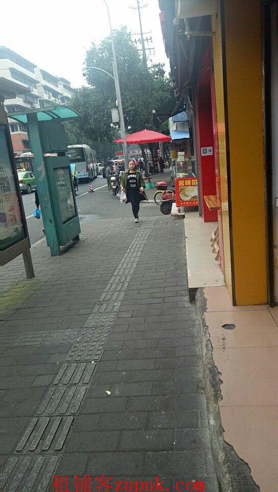 莲桂南路 公交站旁 小吃店 转让