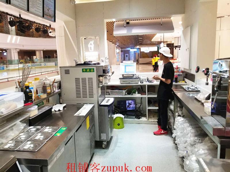 商城内甜品店使用场地优转