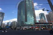 写字楼大堂口 115平餐饮商铺直招 门前为公交车站
