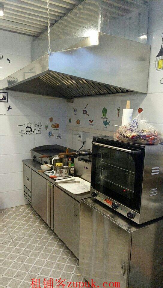 地铁站旁美食城盈利档口小吃店冷饮店整转(可空转)