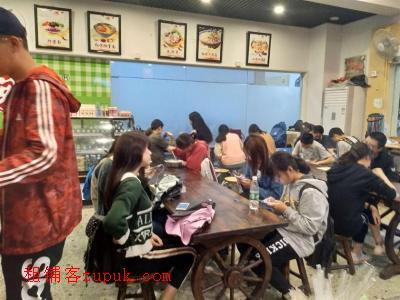 林科大商业街50㎡小吃店转让!