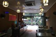 写字楼旁转角位置餐馆急转
