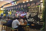 大型购物广场100㎡拐角品牌餐饮转让(可空转)