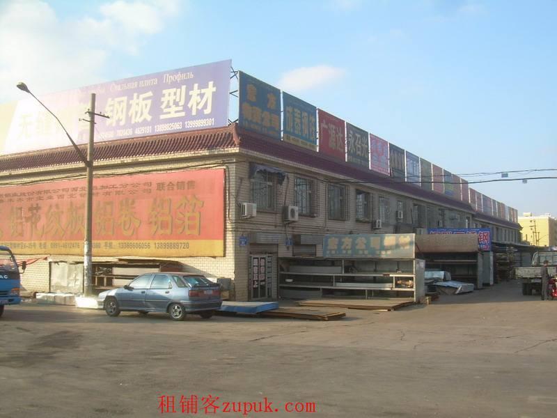 王家沟钢材市场商铺转让