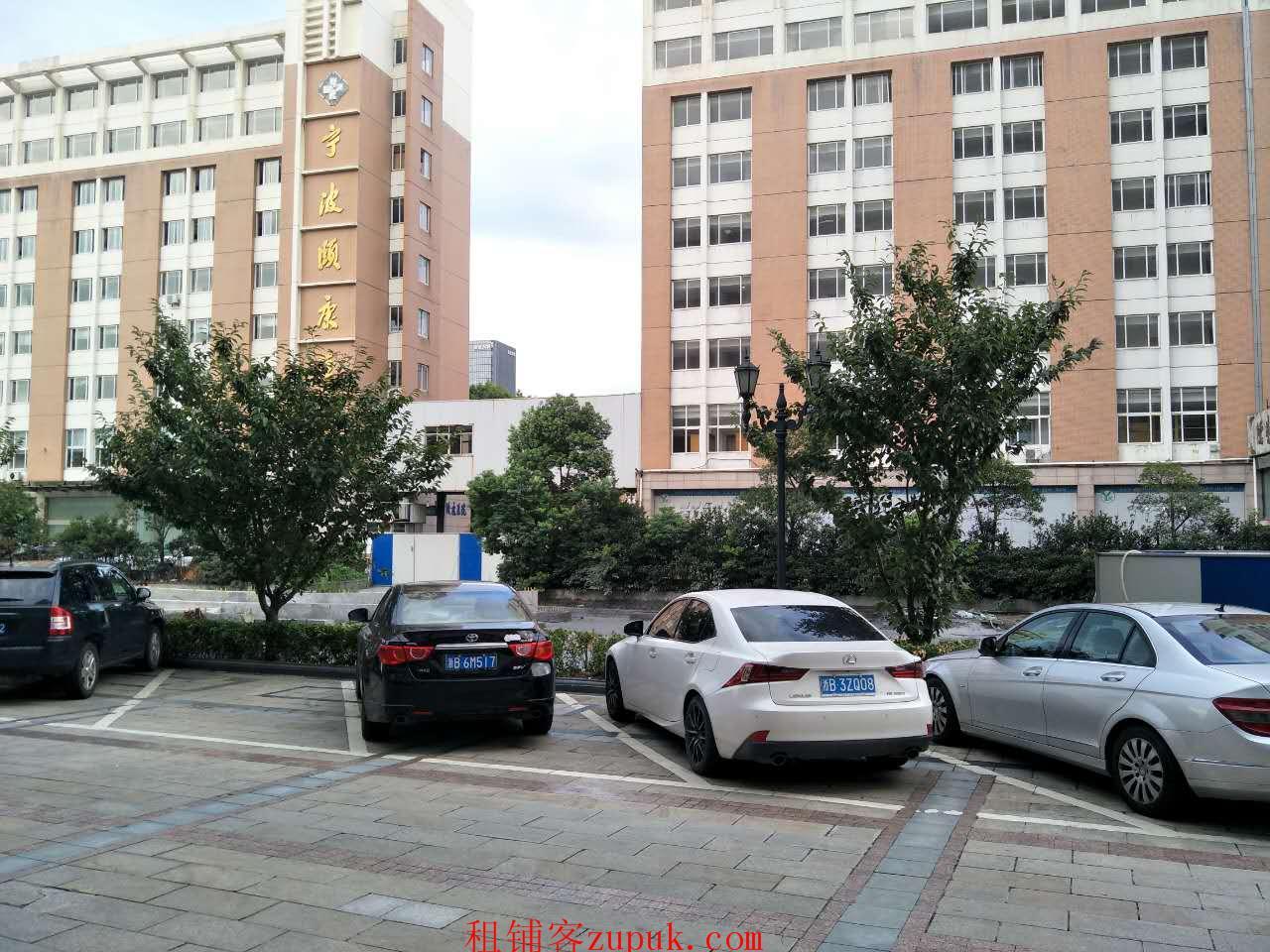 宁波颐乐园对面临街二层商铺135平整租