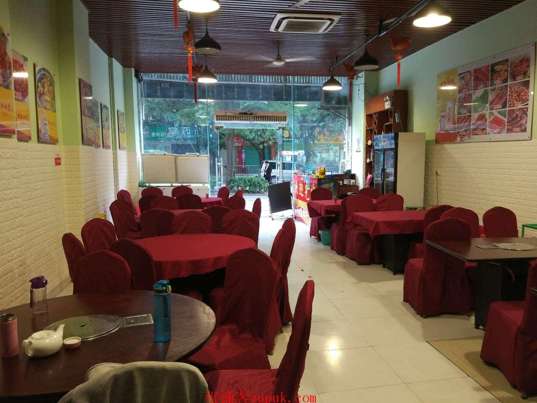 成熟小区门口238㎡独家特色餐饮店转让