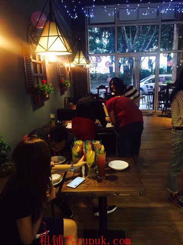 芳村临街一线江景咖啡店转让