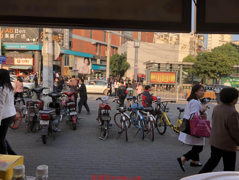 洪山虎泉商业街临街旺铺优转