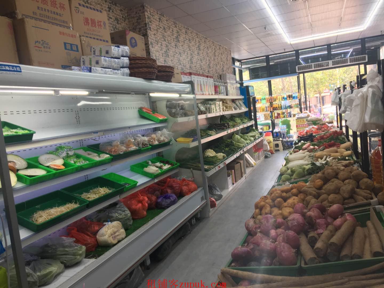 光谷万人小区口生鲜水果店转让《可空转》