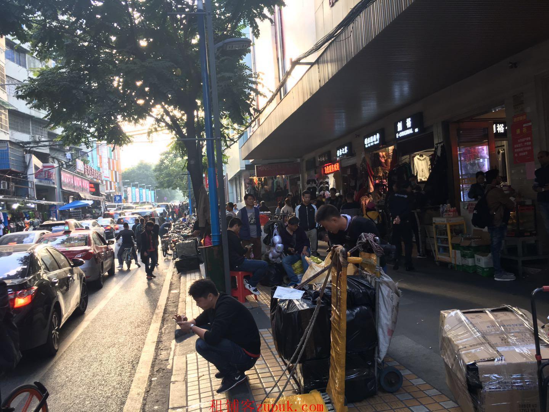 广州火车站,服装批发商城,21年老商城,人流稳定