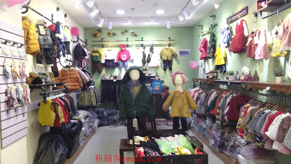北京华联超市  一层服饰商铺
