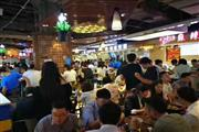 南京西路餐饮旺铺饭点人山人海,写字楼白领3万人以上